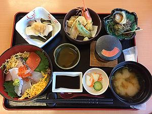 日本海の恵みたっぷりみやび定食